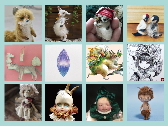 Miniature Doll & Drawing Show 空間に遊ぶ小さなアートたち partⅣ