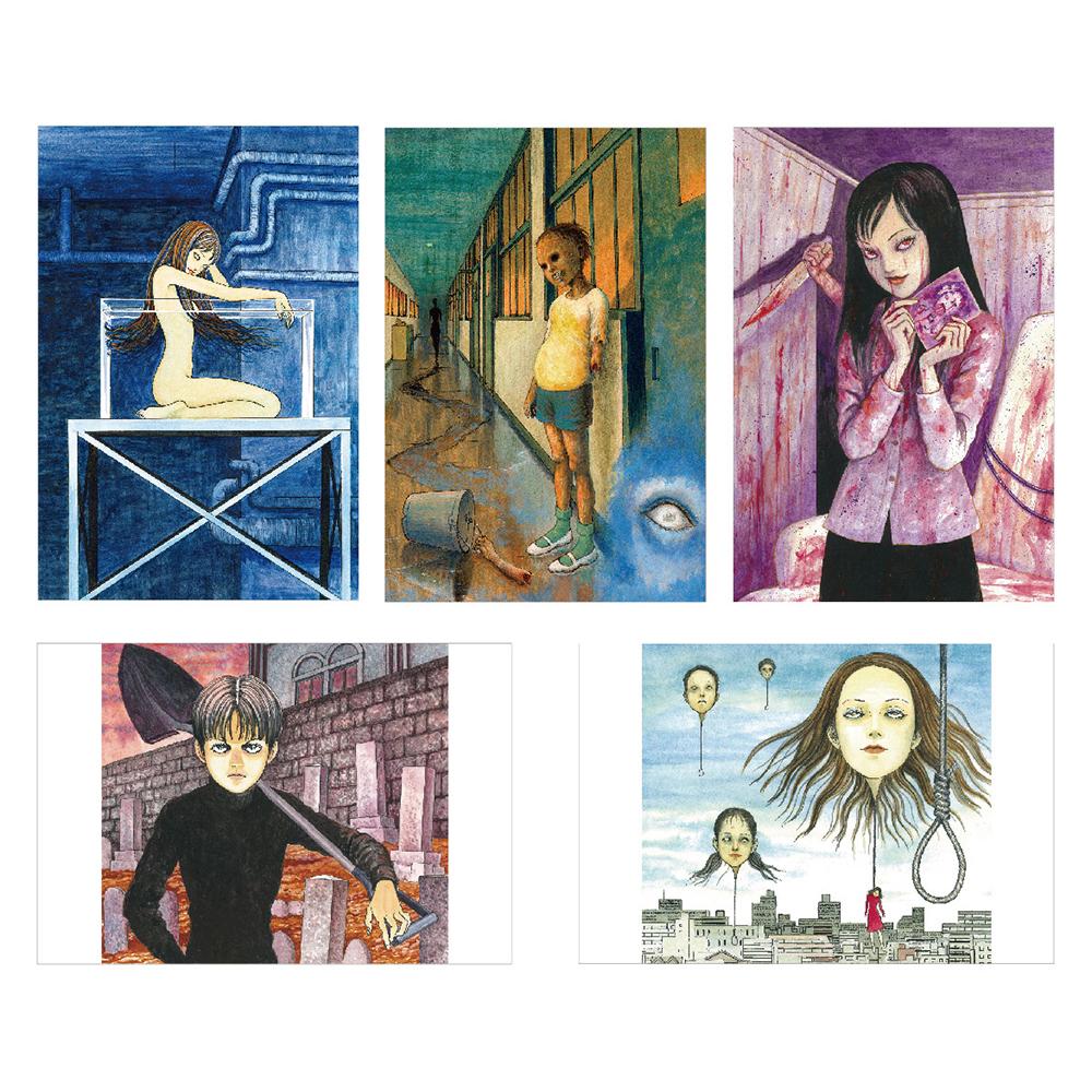 伊藤潤二 ポストカードセット 3, ITO Junji Postcard Set 3
