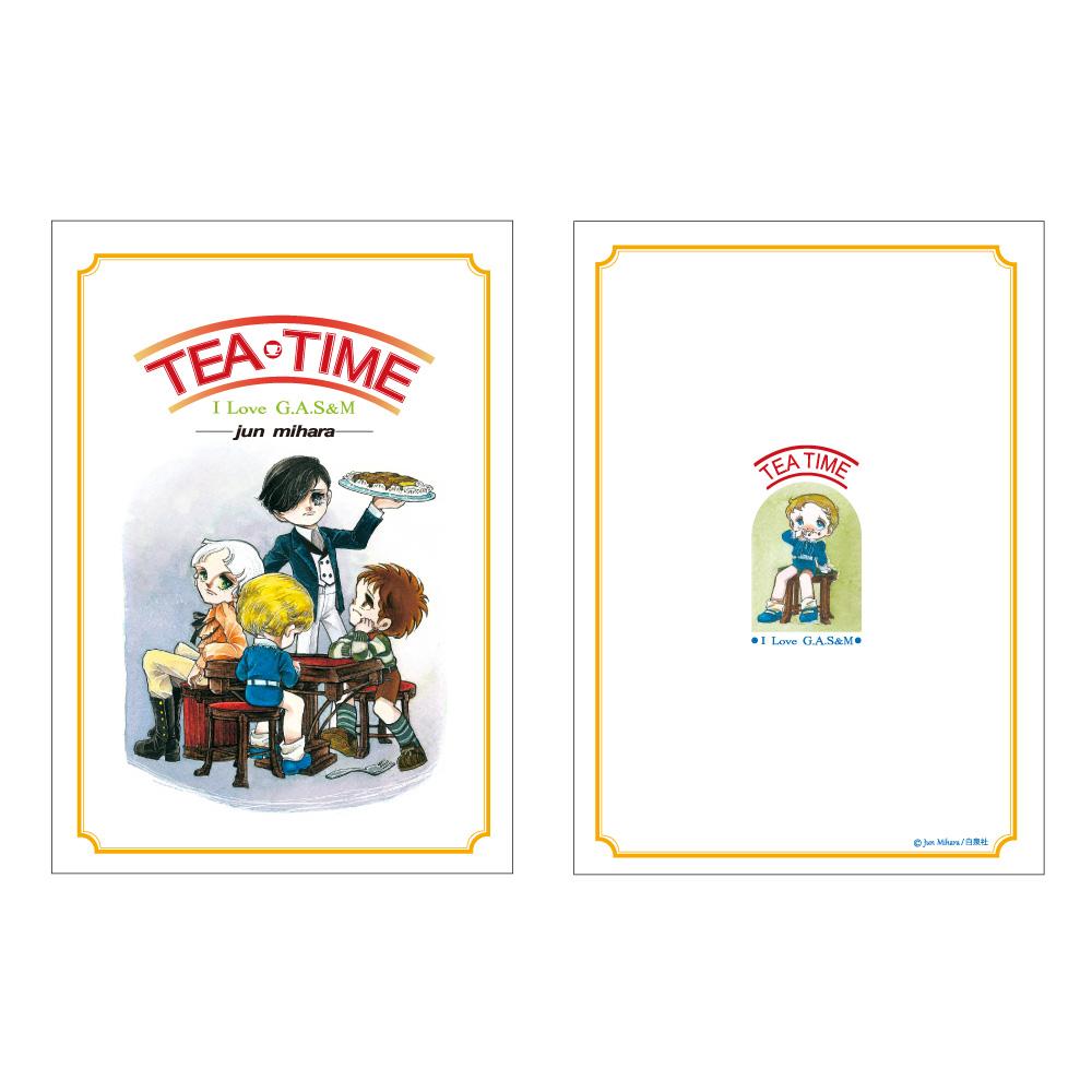 三原順「TEA-TIME ノート」リメイク A5 サイズノート