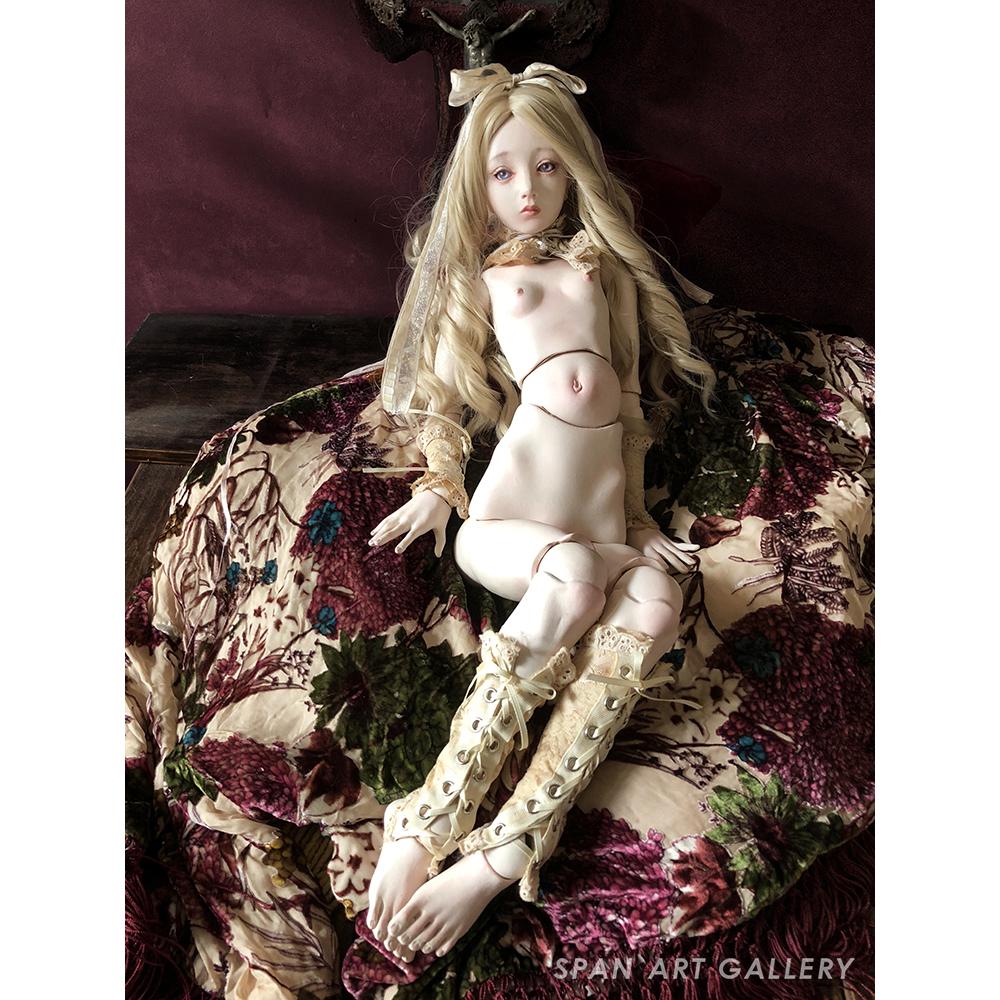 森馨 人形『檸檬金絲雀』