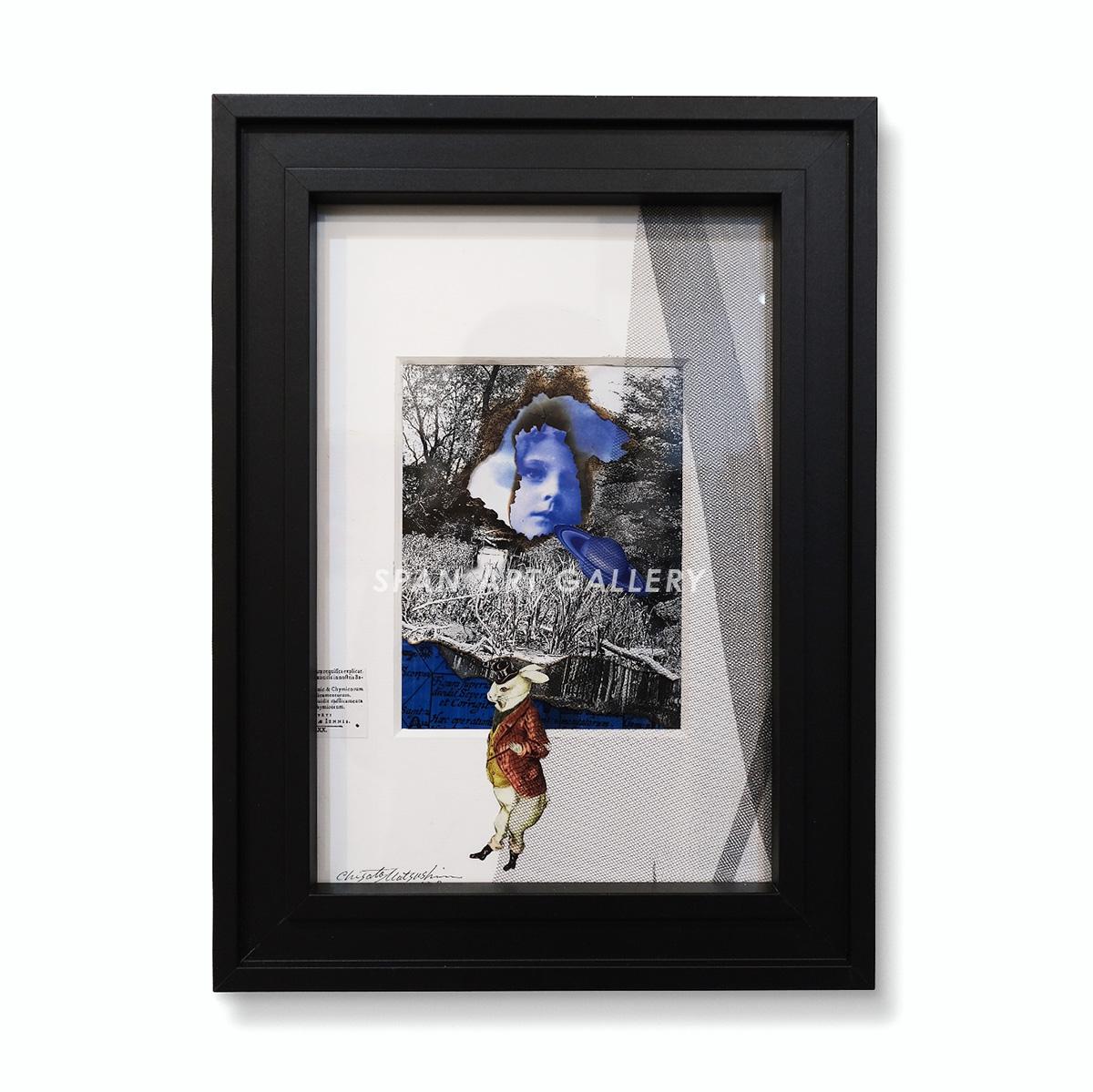 松島智里 平面作品『なにか美しい空想』